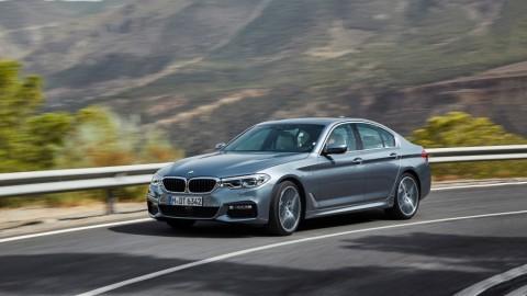 اعلان سيارة الفئة الخامسة BMW