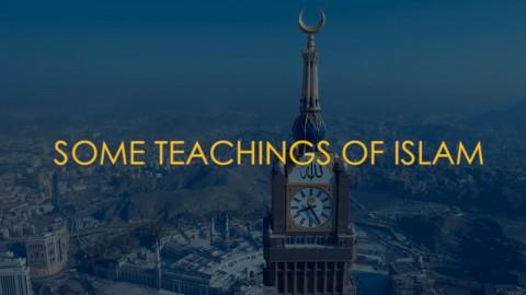 Some Teaching of Islam - Awareness Raising Documentary