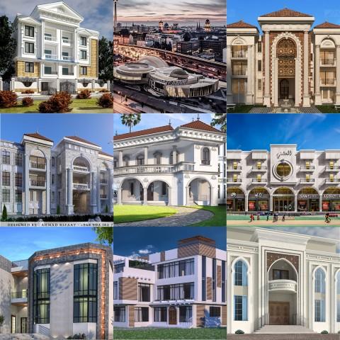 تصميمات معمارية خارجية - Exteriors Designs