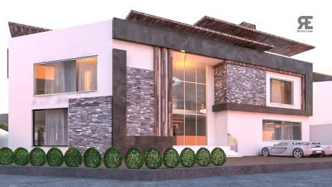 exterior Animation for villa