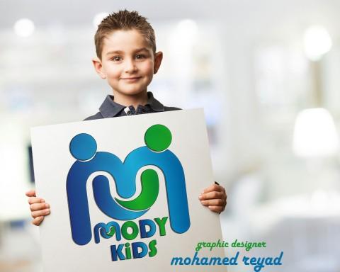 تصميم شعار لحضانة (MODY KIDS ) بمصر