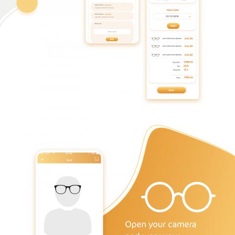تطبيق ابصر : لبيع النظارات الطبية والشمسية