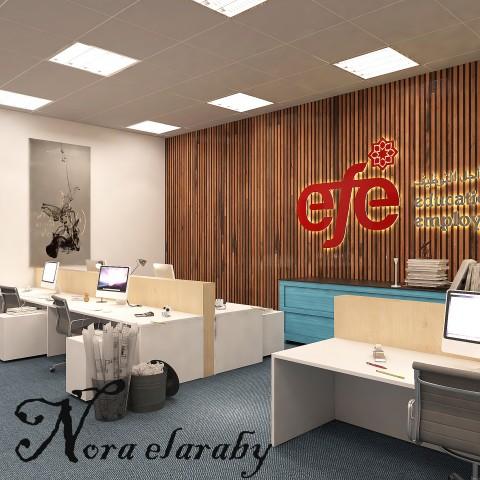 تصميم مكتب EFE