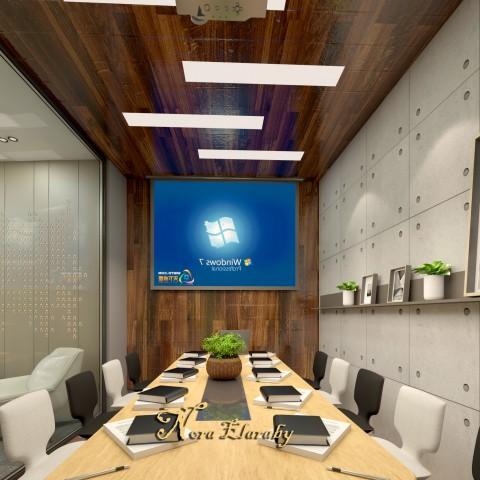 تصميم غرفه اجتماعات
