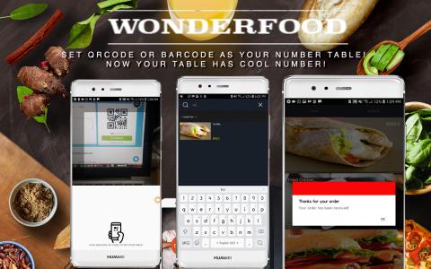 Wonderfood - تطبيق تطلب الطعام من المطاعم