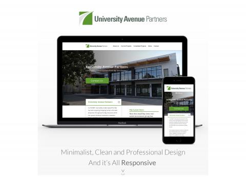 تصميم و تطوير موقع أكاديمي لجامعة.