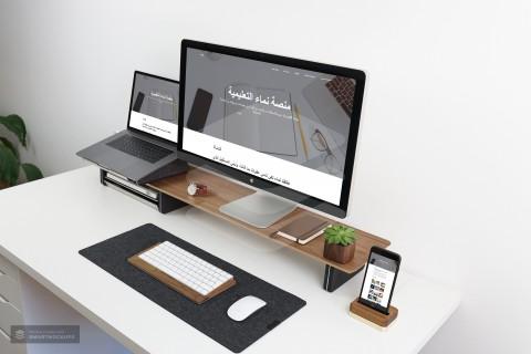 تصميم وبرمجة موقع مع الصفر (فرونت اند)