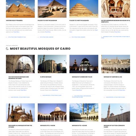 موقع سياحي لمصر