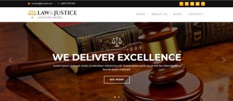موقع ألكتروني لمكاتب المحاماة و الإستشاريين.