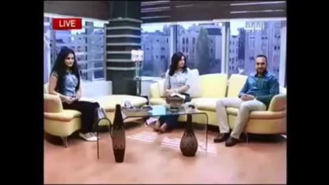 مقابلة مع قناة البابلية الفضائية