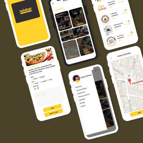"""تطبيق موبايل """"طلبات"""" لشراء الطلبات وتوصيلها لمكان تواجدك"""