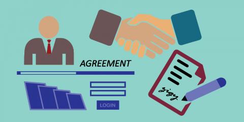 اتفاقية تطوير تطبيقات الهاتف المحمول- ثلاث تطبيقات وموقع إلكتروني