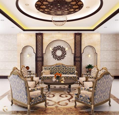 Islamic style interior design