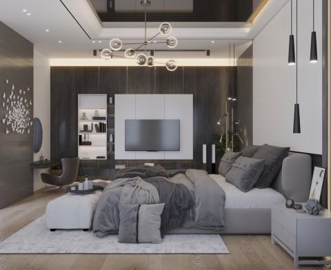 تصميم داخلي لغرفة نوم  - السعودية