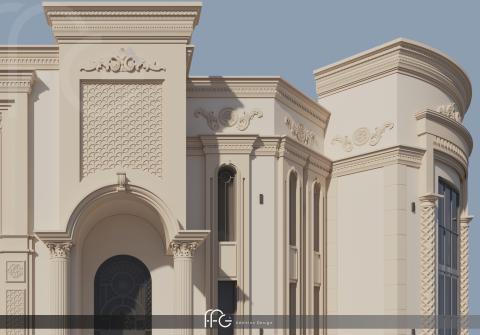 تصميم فيلا - السعودية
