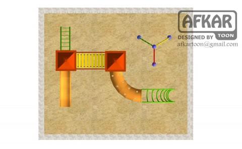 تصميم هندسي- تصميم ألعاب