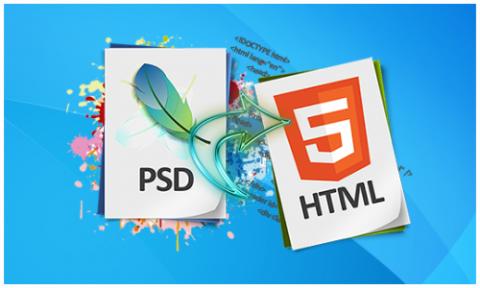 تحويل من PSD إلى jQuery & CSS & HTML