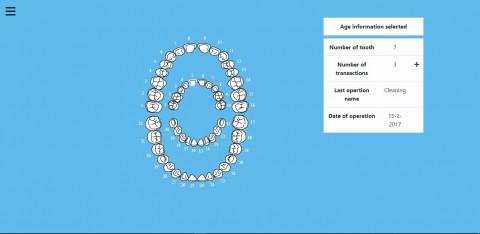 تطبيق عيادة أسنان