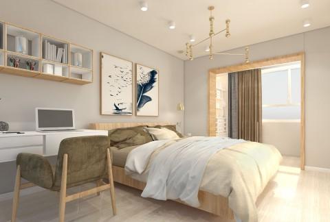 تصميم غرفة نوم شباب  هنا يكون الاتقان