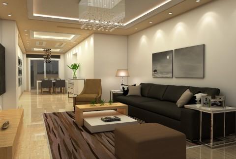 تصميم شقة صغيرة