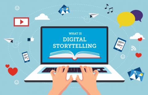 """السرد القصصي الرقمي """"Digital Storytelling"""""""