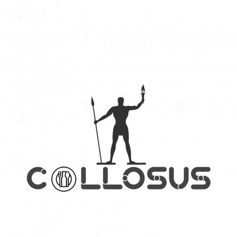 تصميم شعار مطعم اجنبي لبيع المأكولات القديمة