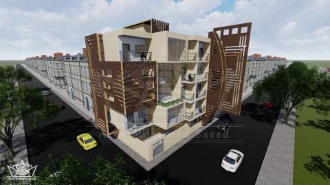 عمارة سكنية من خمسة طوابق
