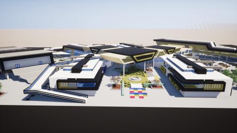 مشروع تصميم كلية تربية