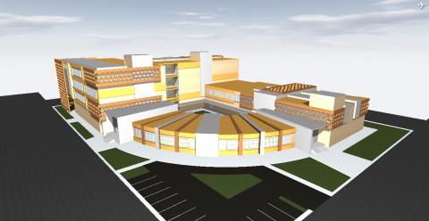 مشروع مستشفى ريفي
