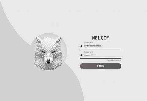 تصميم واجهة تسجيل دخول احترافية