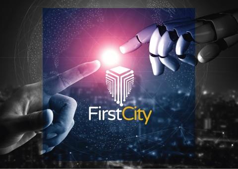 تصميم شعار  logo Fitst City