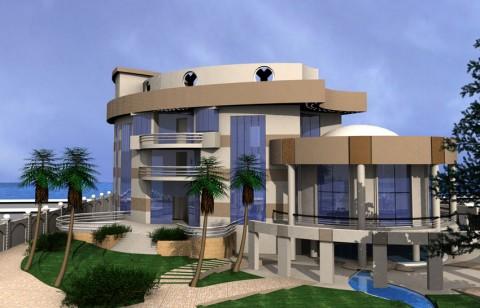 تصميم فيلا سكنية مودرن