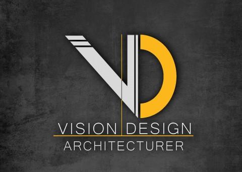 تصميم شعار لشركة vision