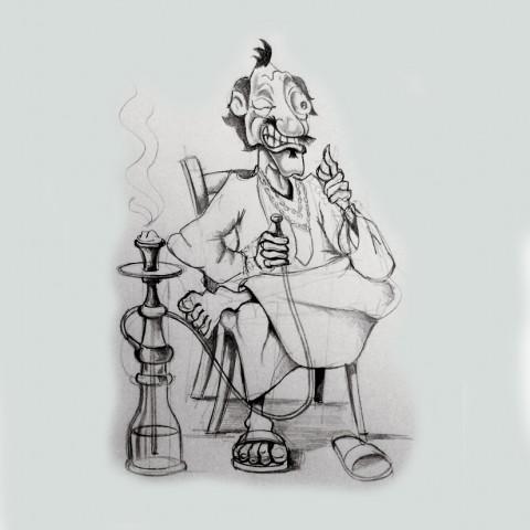 رسم كريكاتير