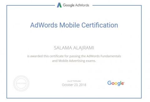 خبير معتمد من شركة جوجل في إعلانات تطبيقات الهواتف الذكية.