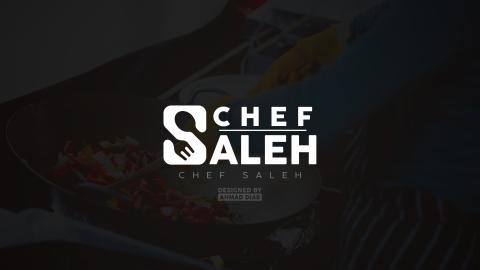 شعار الشيف صالِح | CHEF SALEH logo