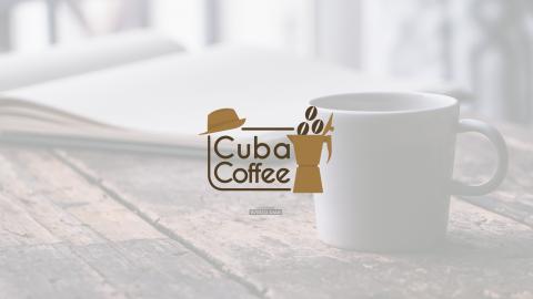 شِعَارُ كُوبا كوفي | CUBA COFFEE logo