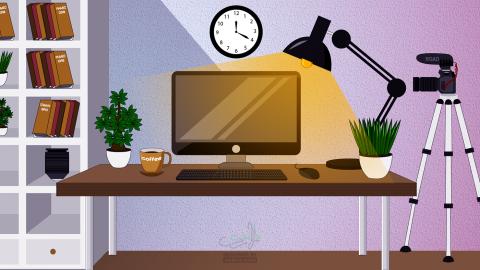 Designer work space