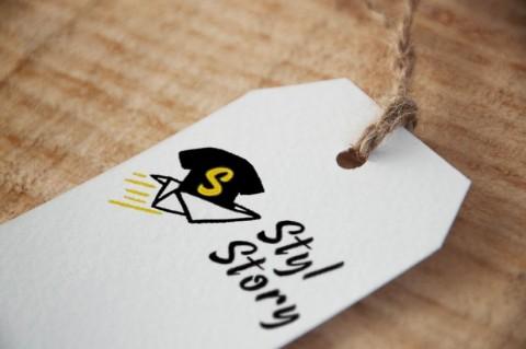 تصميم شعار وهوية بصرية لمحل بيع الملابس