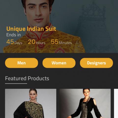 تطبيق ملبس للتسوق