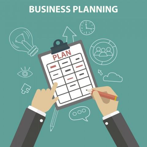 إعداد مقال حول بناء خطة المشروع