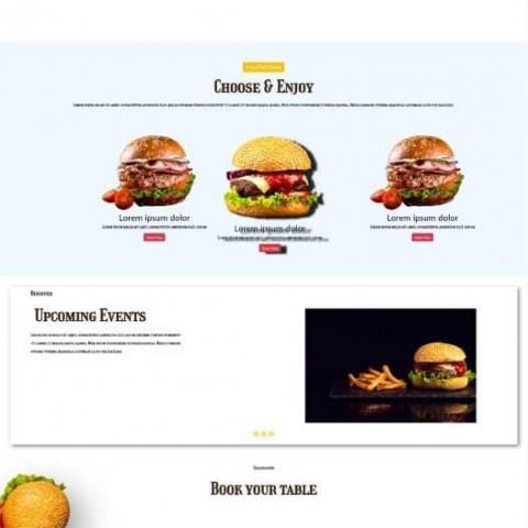 تصميم موقع الكتروني بواسطة لغة html and css