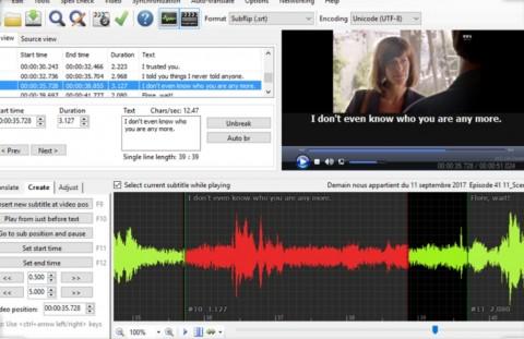 مزامنة الترجمة مع الفيديو
