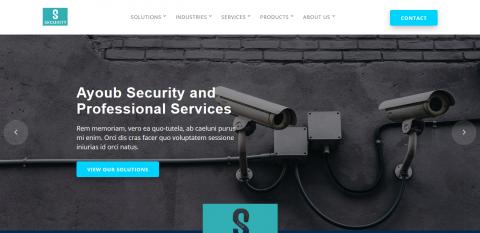 موقع شركة امن