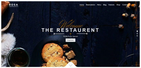 موقع لمطعم