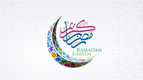 تهنئة رمضان بطريقة الموشن جرافيك