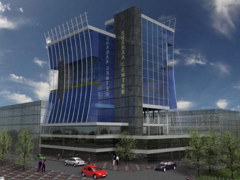 تصميم برج تجاري مؤلف من 15 طابق
