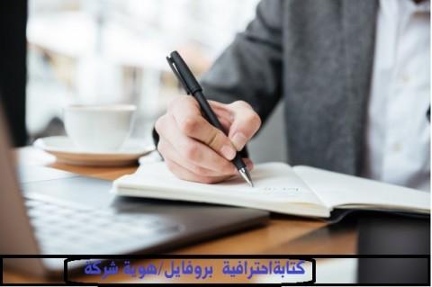 كتابة بروفايل/ هوية احترافية لشركة بالعربي والإنجليزي