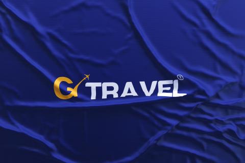شعار وهوية شركة سياحة G travel