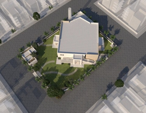 اعادة تصميم مسجد